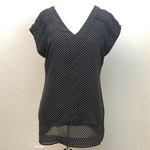 Converse One Star Black Blouse Size XS